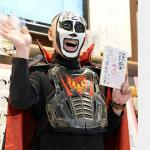 鉄拳パラパラ漫画作品集第二集の発売記念サイン会での鉄拳